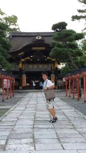 160826_Momo im Ursprungsland des Karate's in Japan